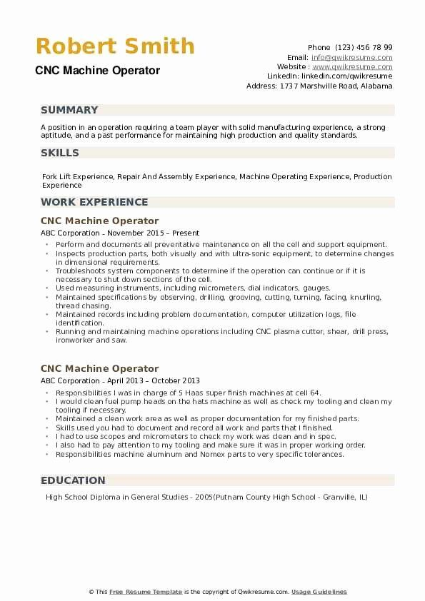 machine operator resume example best of cnc samples examples good deutsch bedeutung free Resume Machine Operator Resume Examples
