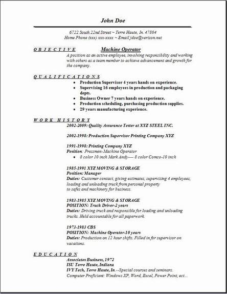 machine operator resume occupational examples samples free edit with word linkedin vs Resume Machine Operator Resume Examples