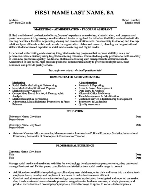 marketing and payroll assistant resume template premium samples example examples Resume Payroll Resume Examples