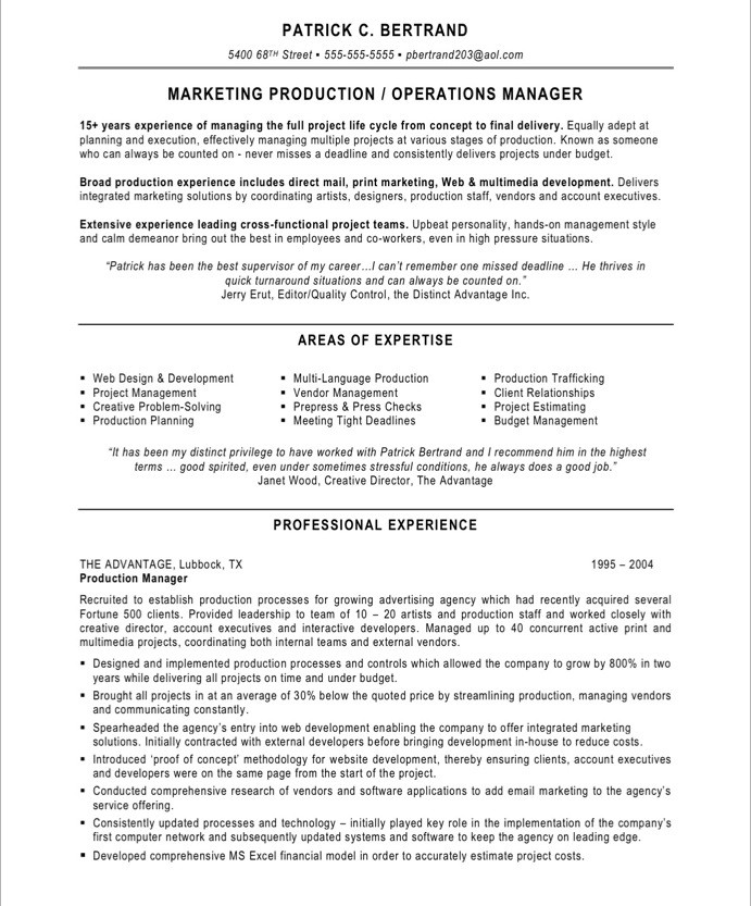 marketing production manager free resume samples blue sky resumes manufacturing 14after Resume Manufacturing Resume Samples