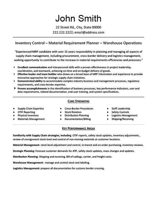 materials manager resume sample do you feel interested in applying for material mana Resume Materials Manager Resume