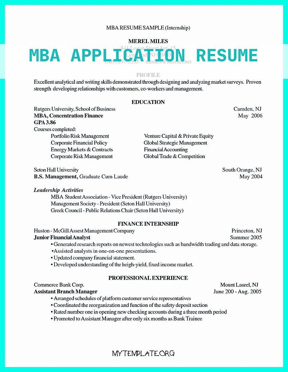 mba application resume free templates admission examples of best write properly your Resume Mba Admission Resume Examples