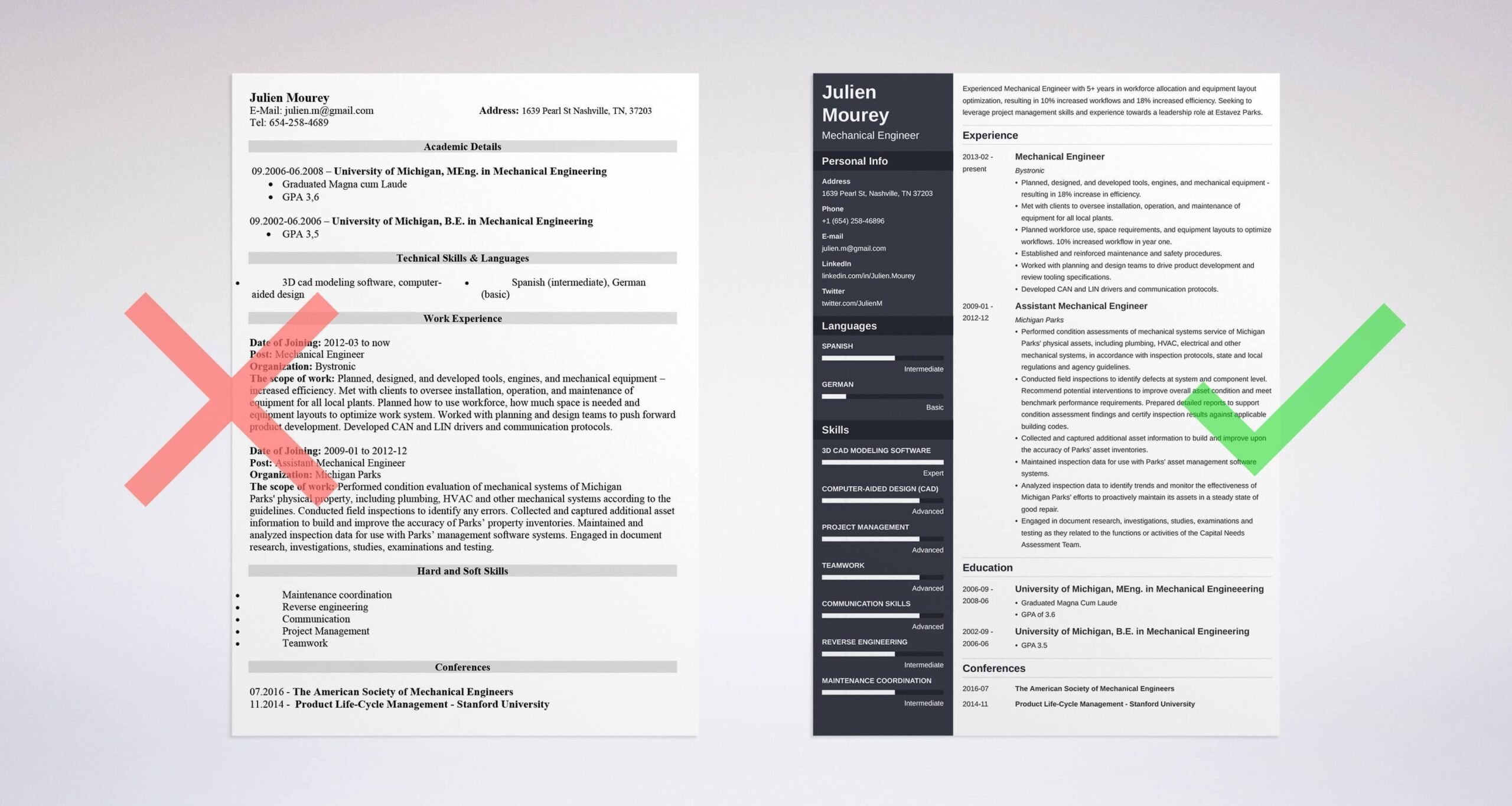 mechanical engineer resume examples template guide automotive software sample business Resume Automotive Software Engineer Resume
