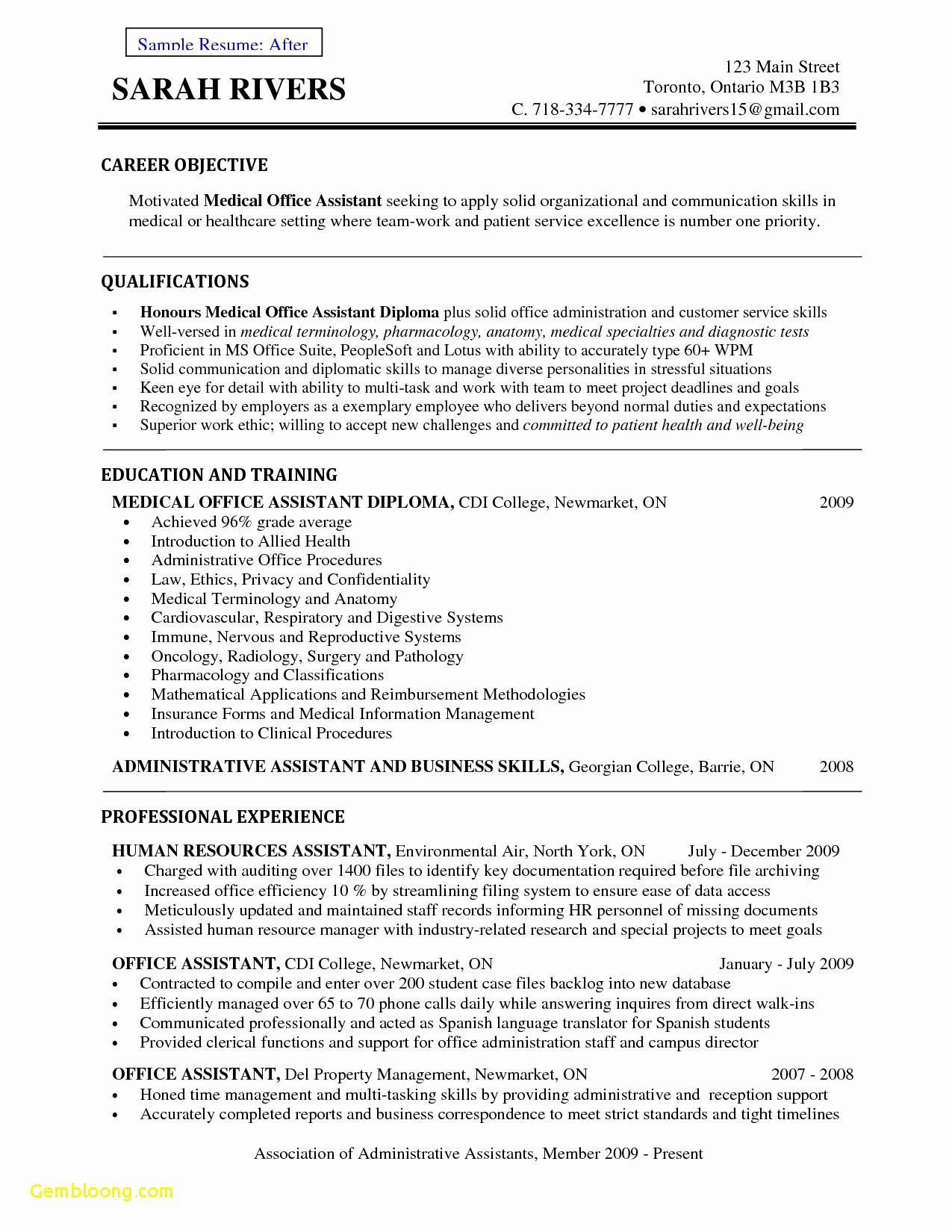 medical administrative assistant resume sample beautiful legal office skills sap wm Resume Medical Office Assistant Skills Resume
