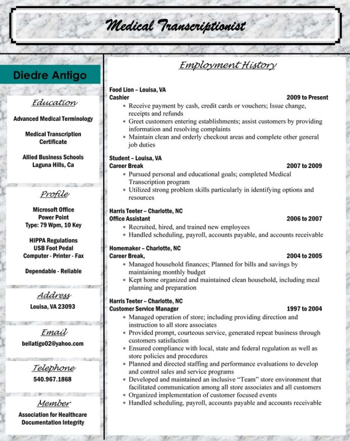 medical billing and coding resume sample resumes coder help desk summary indeed sun idm Resume Sample Resume For Medical Billing And Coding