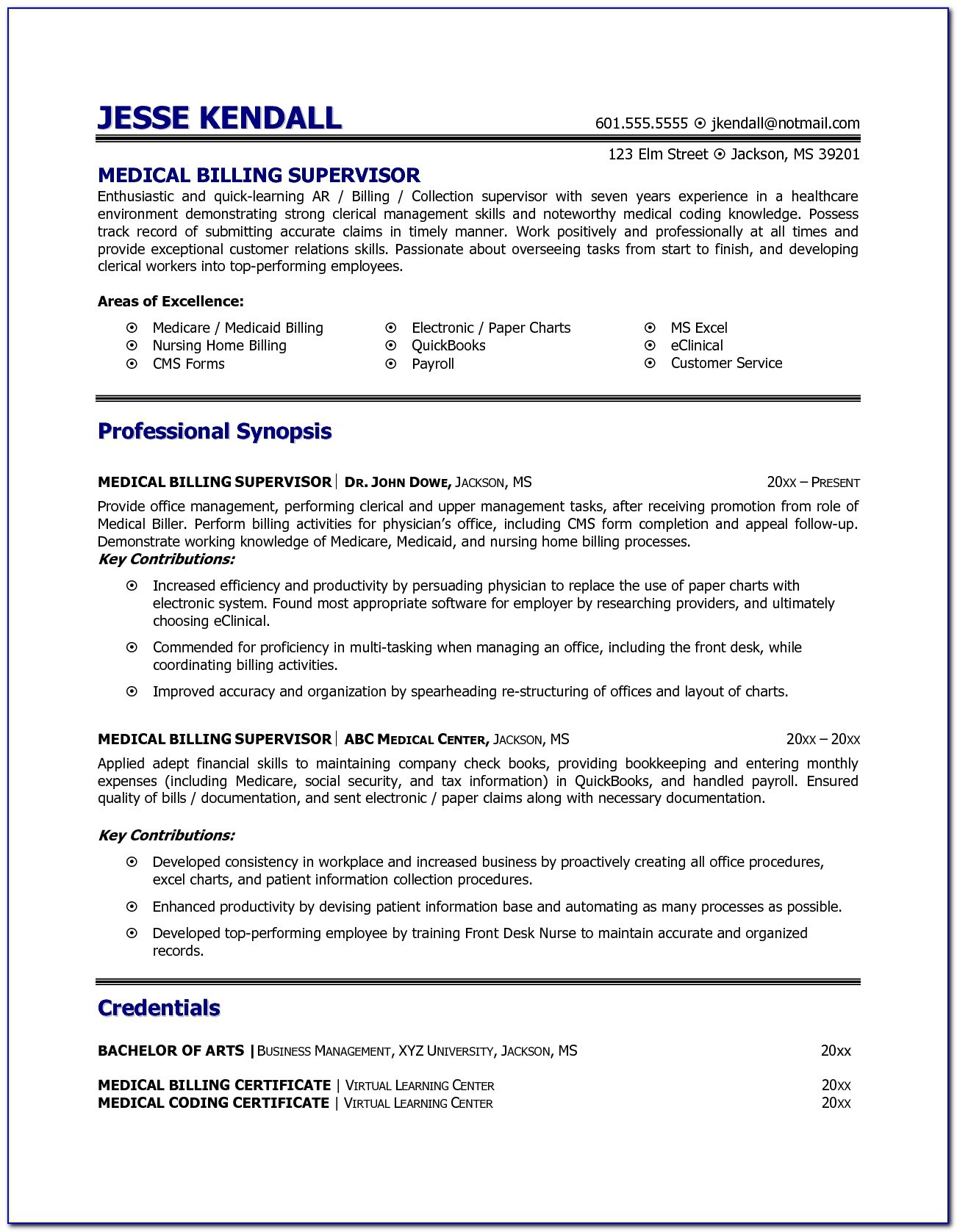 medical billing and coding resume skills vincegray2014 sample for shipping clerk Resume Sample Resume For Medical Billing And Coding