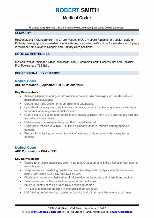 medical coder resume samples qwikresume coding examples pdf professional adjectives for Resume Medical Coding Resume Examples