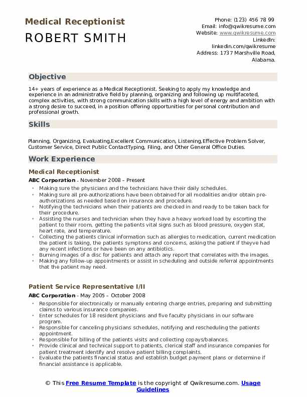 medical receptionist resume samples qwikresume no experience pdf litigation paralegal Resume No Experience Receptionist Resume