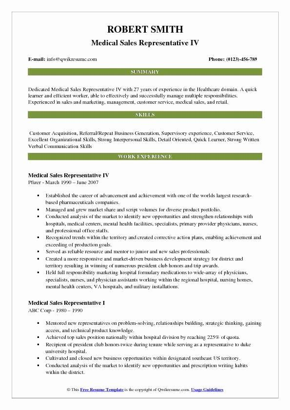 medical resume example fresh representative samples in project manager examples senior Resume Senior Medical Representative Resume