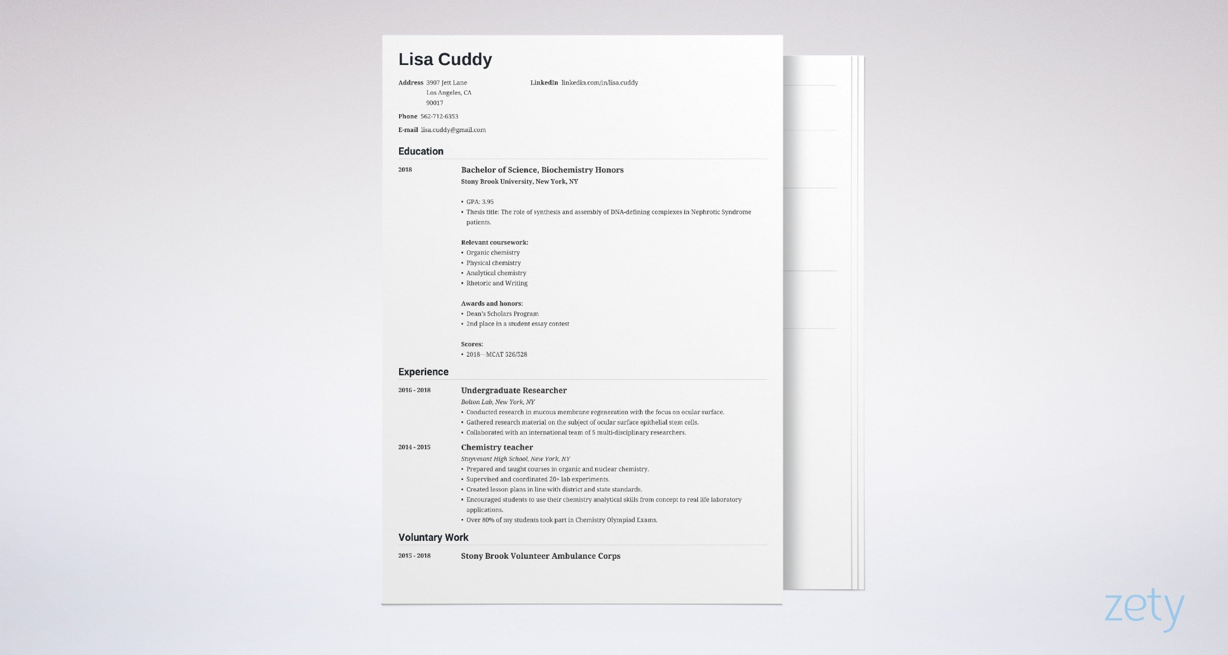 medical school resume sample for admission tips examples template example contemporary Resume Medical School Resume Template
