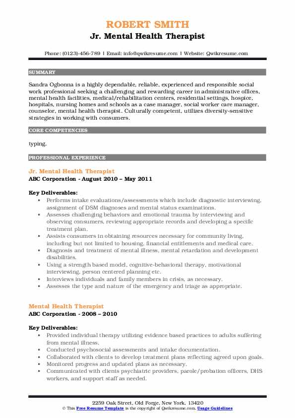 mental health therapist resume samples qwikresume pdf electrical design engineer format Resume Mental Health Therapist Resume