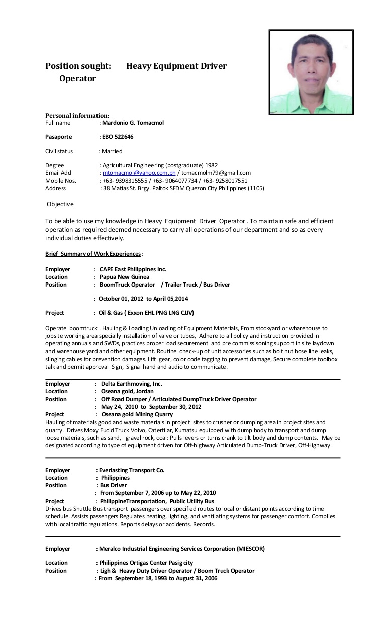 mgt cv heo heavy bus driver resume conversion gate01 thumbnail search engine marketing Resume Heavy Bus Driver Resume