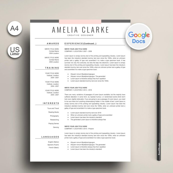 modern google docs resume template graphic worker exclusive cv with photo nurse Resume Google Docs Resume Template With Photo