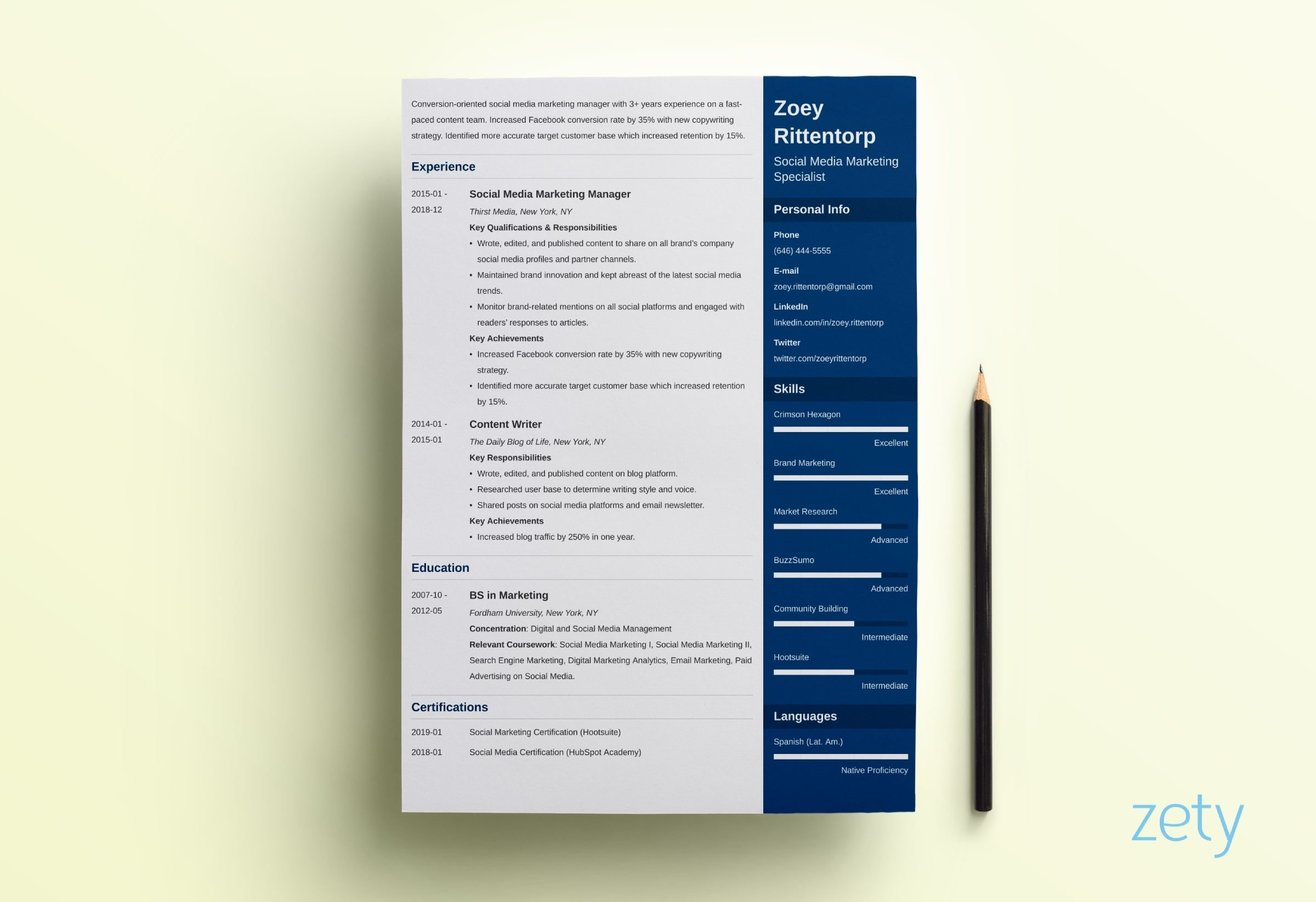 modern resume template format examples for new age templates enfold company secretary Resume New Age Resume Templates