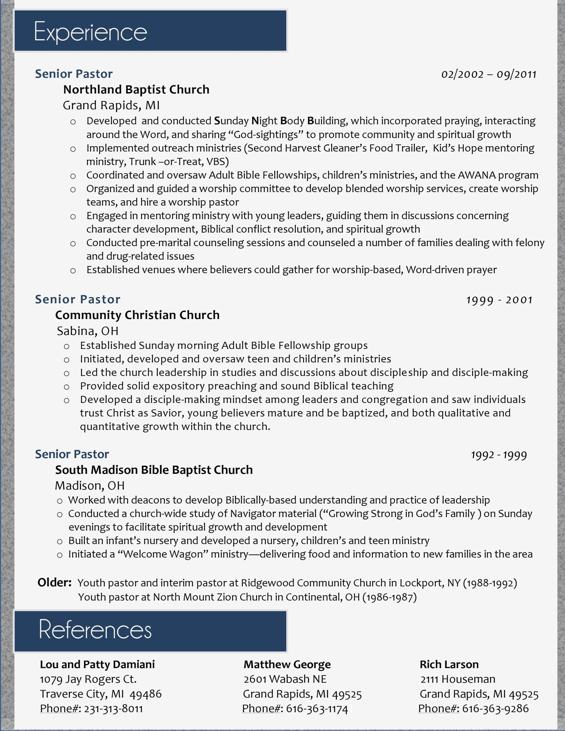 my resume design for pastoral position ll do yours just sample examples best ministry and Resume Sample Ministry Resume And Cover Letter