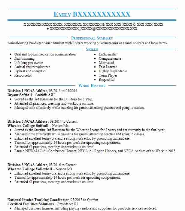 ncaa division athlete tennis resume example university of salinas for college staffing Resume Tennis Resume For College