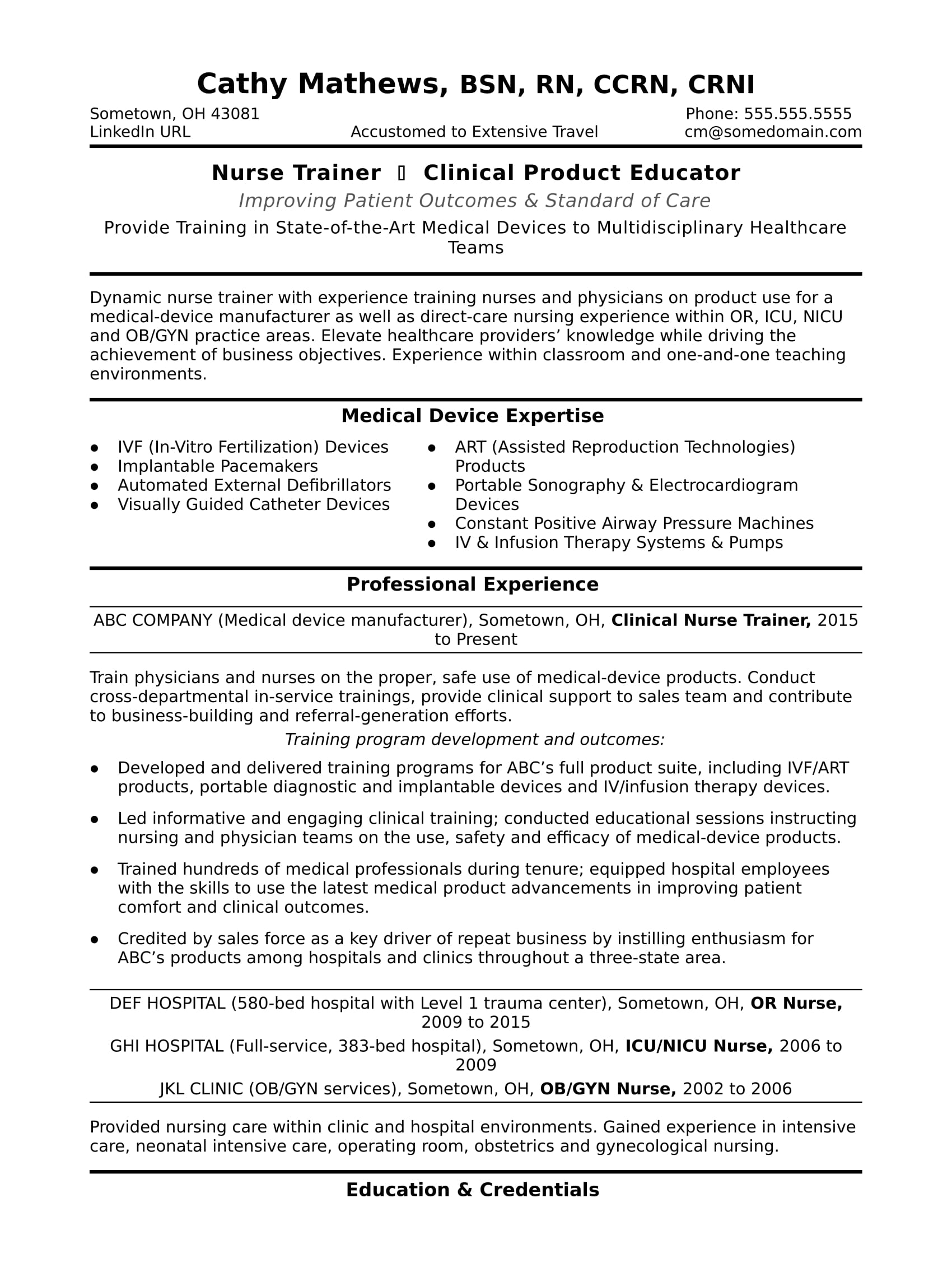 nurse trainer resume sample monster objective for healthcare workers fancy templates Resume Resume Objective For Healthcare Workers