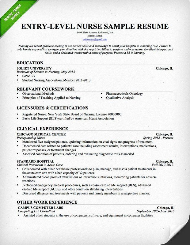 nursing student resume with no experience printable template new grad quick easy maker Resume Nursing Student Resume With No Experience