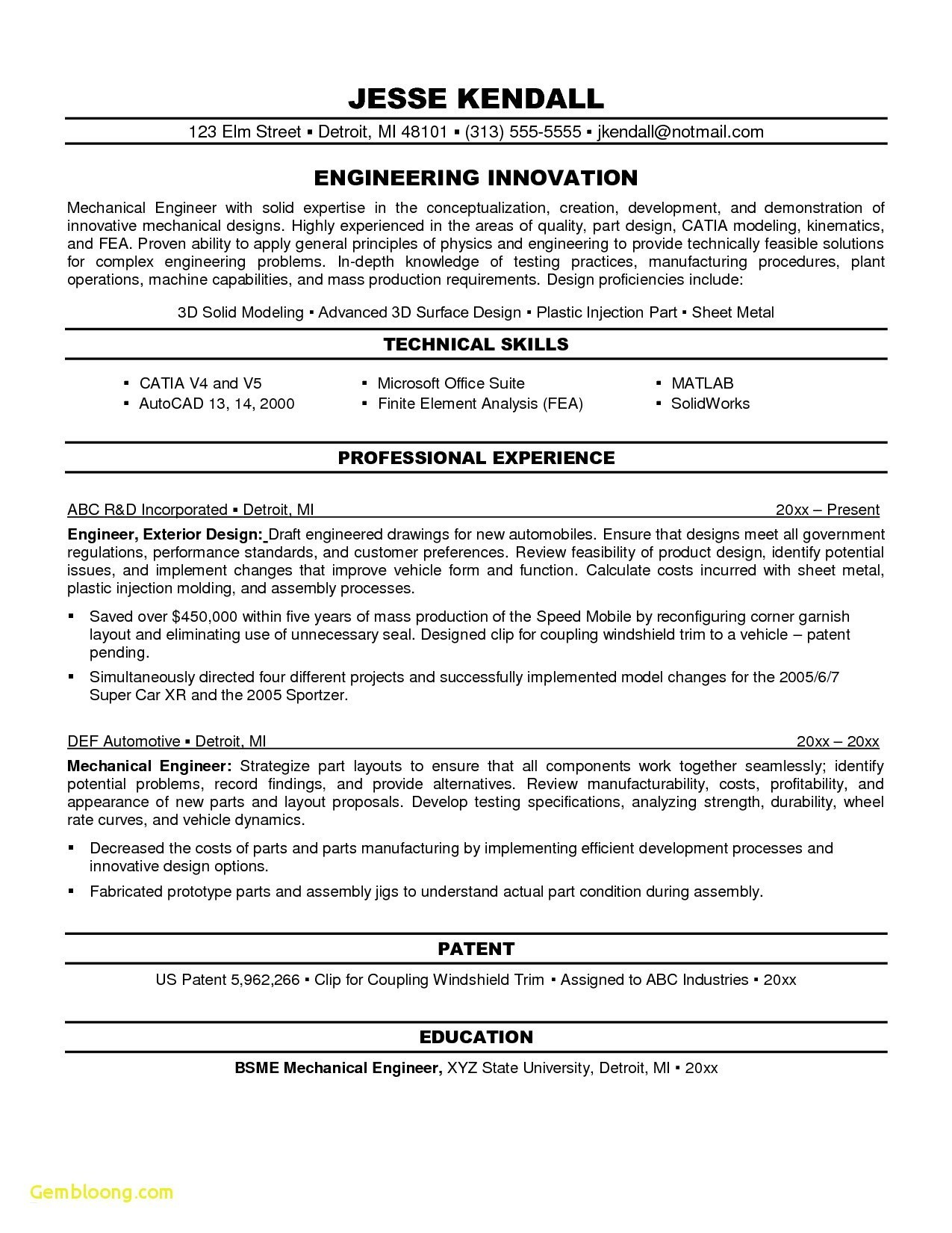 objectives for resume mechanical engineers best engineering objective examples essay Resume Mechanical Engineering Resume Objective