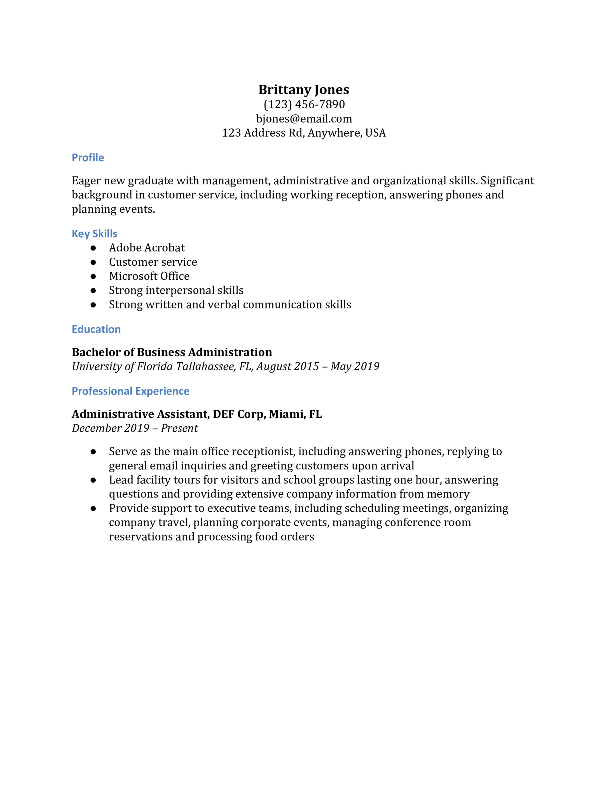 office manager resume examples resumebuilder answering phones on summary for medical Resume Answering Phones On Resume