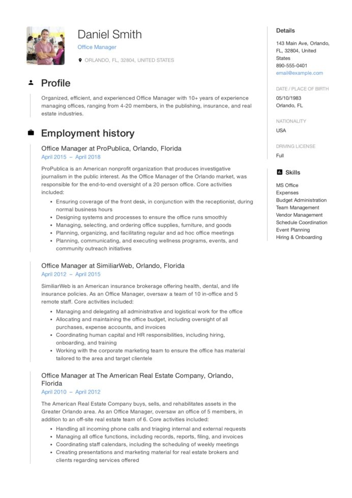 office manager resume guide samples pdf objective on for sample skills you can put beta Resume Objective On Resume For Office Manager