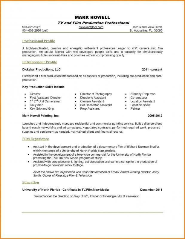 one resume examples good single hospitality management summary easy template free have Resume Single Page Resume Examples