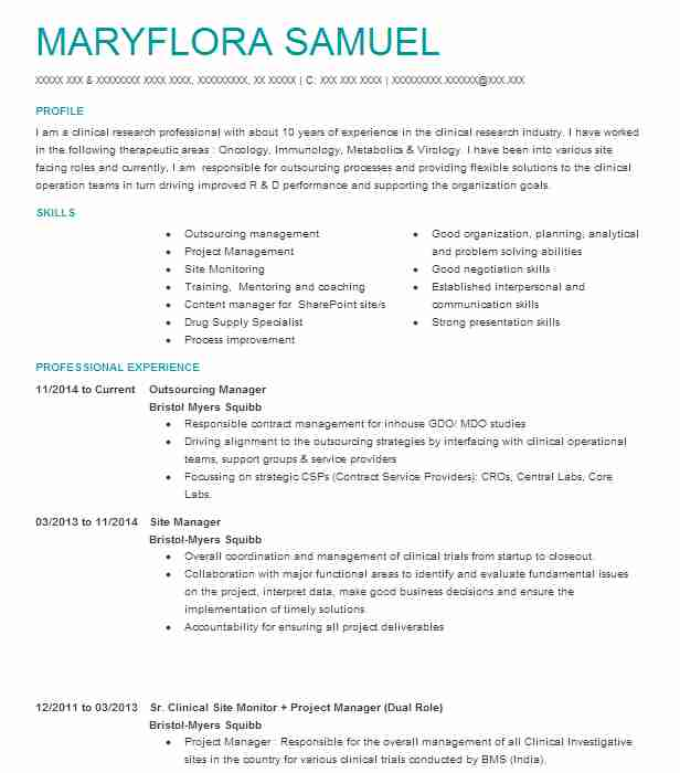 outsourcing manager resume example lentros eng whitinsville business process itil opening Resume Business Process Outsourcing Resume