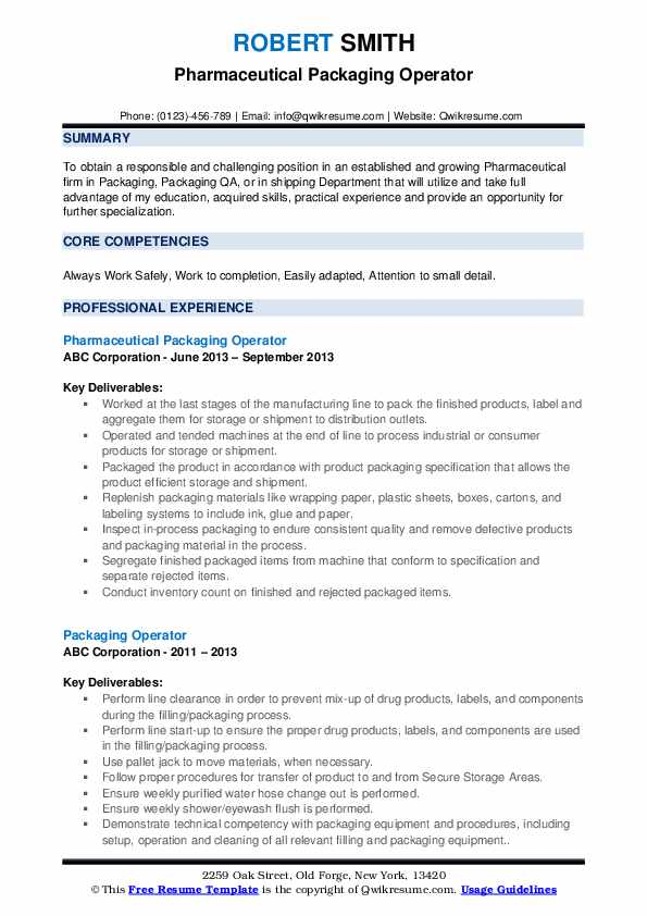packaging operator resume samples qwikresume pdf for bakery job free search recruiters Resume Packaging Operator Resume