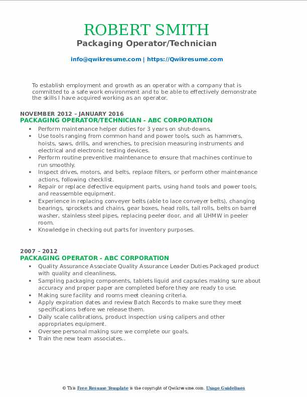 packaging operator resume samples qwikresume pdf healthcare quality analyst time Resume Packaging Operator Resume