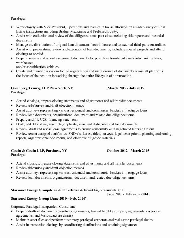 paralegal job description resume elegant maryanne picco estate corporate cover letter for Resume Real Estate Paralegal Resume