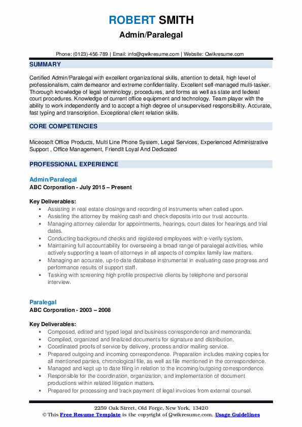 paralegal resume writing service legal services pdf government template assistant office Resume Legal Resume Writing Services