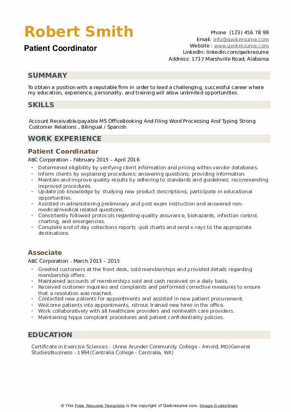 patient coordinator resume samples qwikresume pdf graduate assistant loss prevention Resume Patient Coordinator Resume