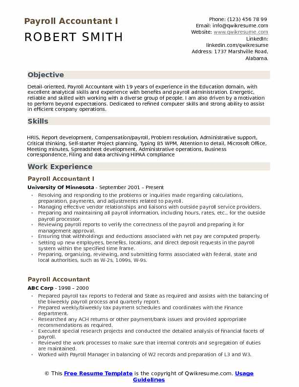 payroll accountant resume samples qwikresume examples pdf housemaid hard and soft skills Resume Payroll Resume Examples