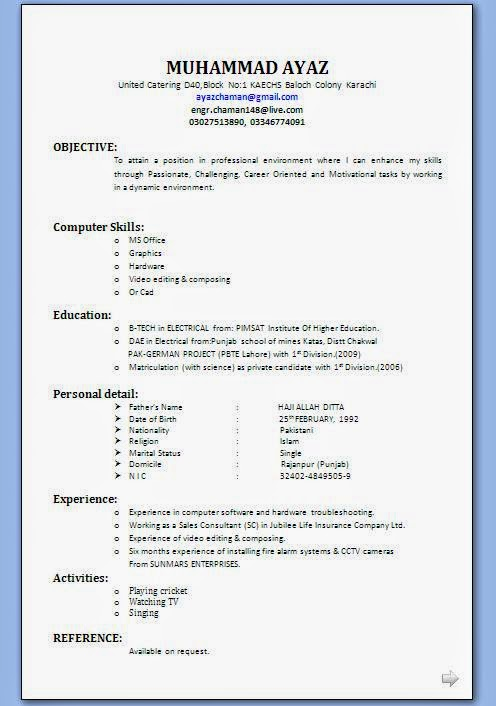 pdf document simple resume format in ms word cricket player duties of office manager for Resume Cricket Player Resume Format