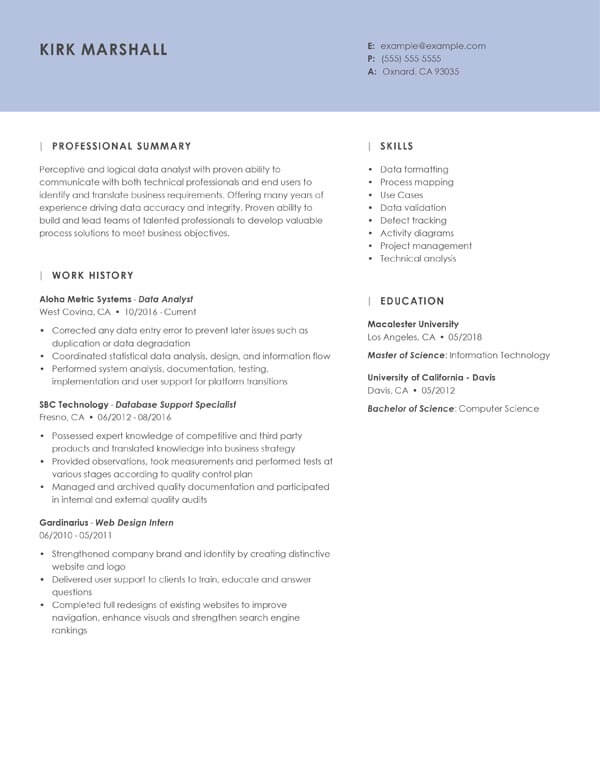 pdf resume templates downloadable to guide format chrono essence data analyst insurance Resume Resume Format Download Pdf