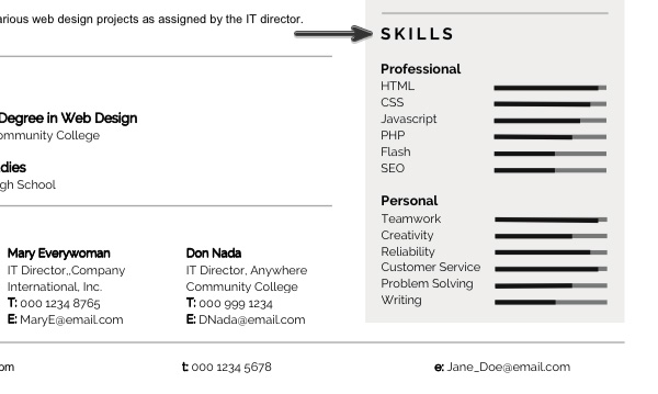 personalize modern resume template in ms word good words for skills workopolis search Resume Good Words For Resume Skills