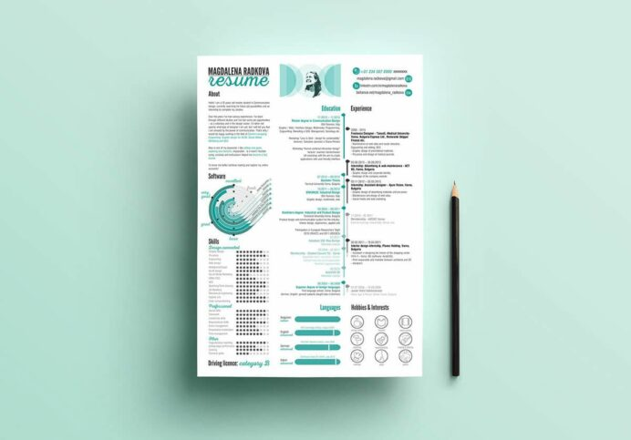 photoshop illustrator indesign resume templates template manual testing personal Resume Indesign Resume Template