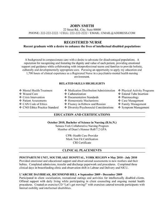 pin by resumetemplates101 on nursing resume template registered nurse examples free Resume Free Nursing Resume Templates