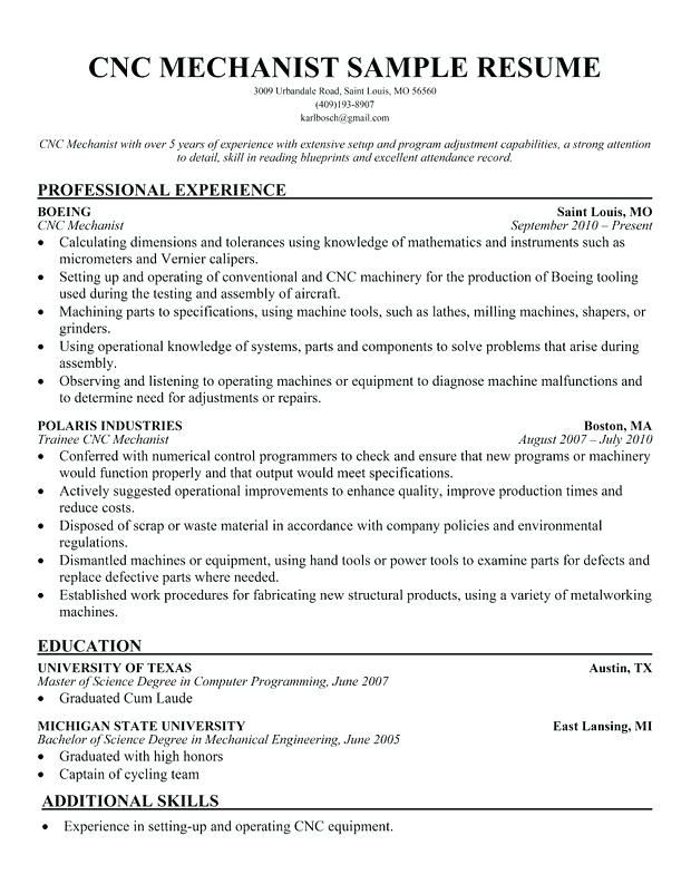 pin on resume for cnc machinist template best recruitment consultant can you make Resume Cnc Machinist Resume Template
