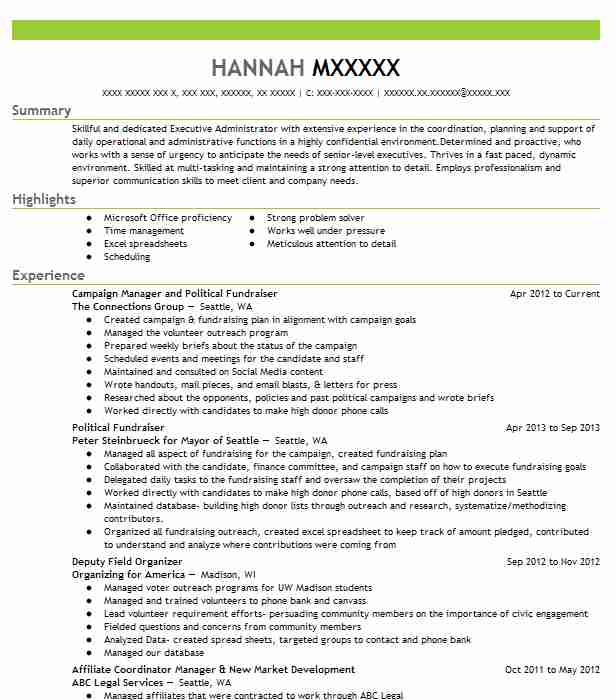 political campaign field organizer resume example democratic party district of costume Resume Political Organizer Resume