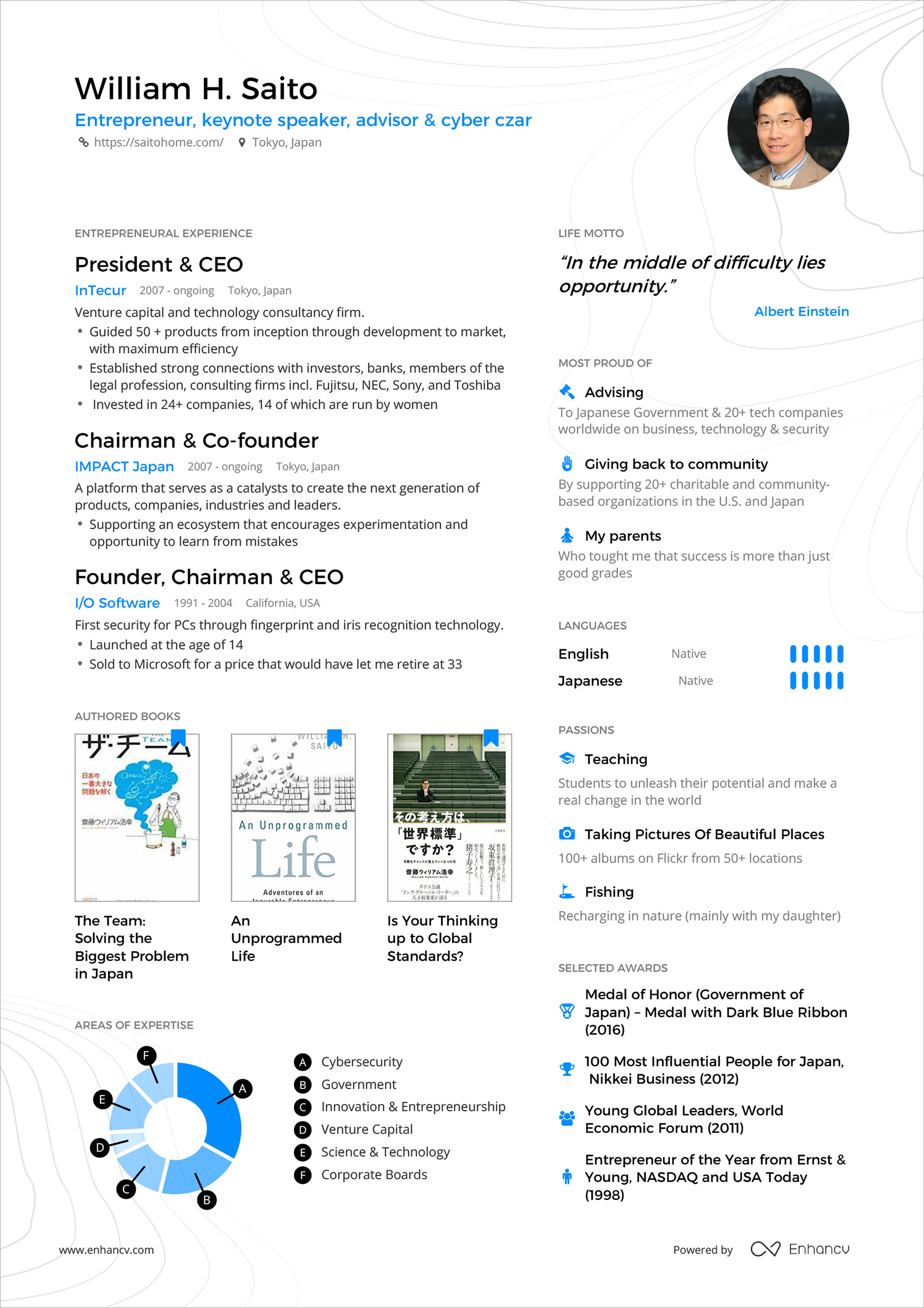 powerful one resume examples you can use now single williamhsaitoresume eye catching Resume Single Page Resume Examples