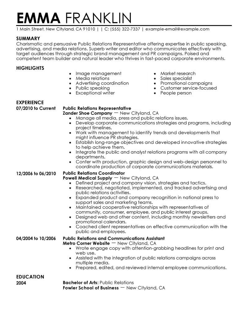 pr resumes ideas resume examples public relations student child and youth worker sample Resume Public Relations Student Resume
