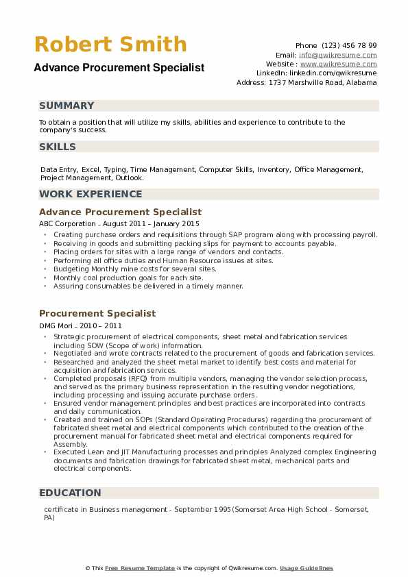 procurement specialist resume samples qwikresume sourcing examples pdf engineering Resume Sourcing Resume Examples
