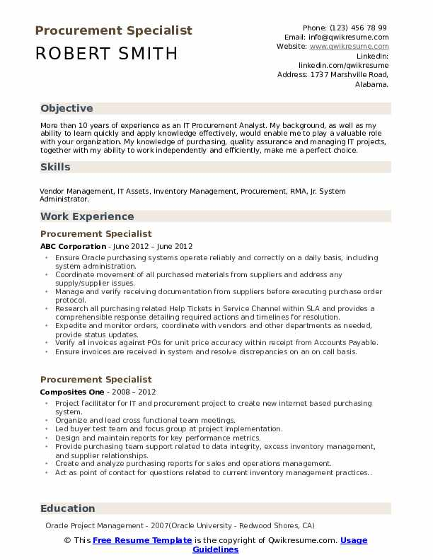 procurement specialist resume samples qwikresume sourcing examples pdf sample objectives Resume Sourcing Resume Examples