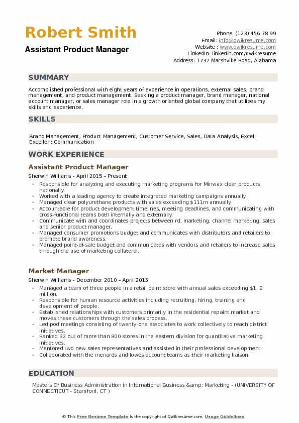 product management skills for resume high school activities google submit servicenow Resume Subway Assistant Manager Job Description Resume
