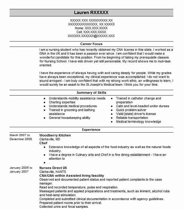 professional chef resume examples culinary livecareer for position cyber security Resume Resume For Chef Position