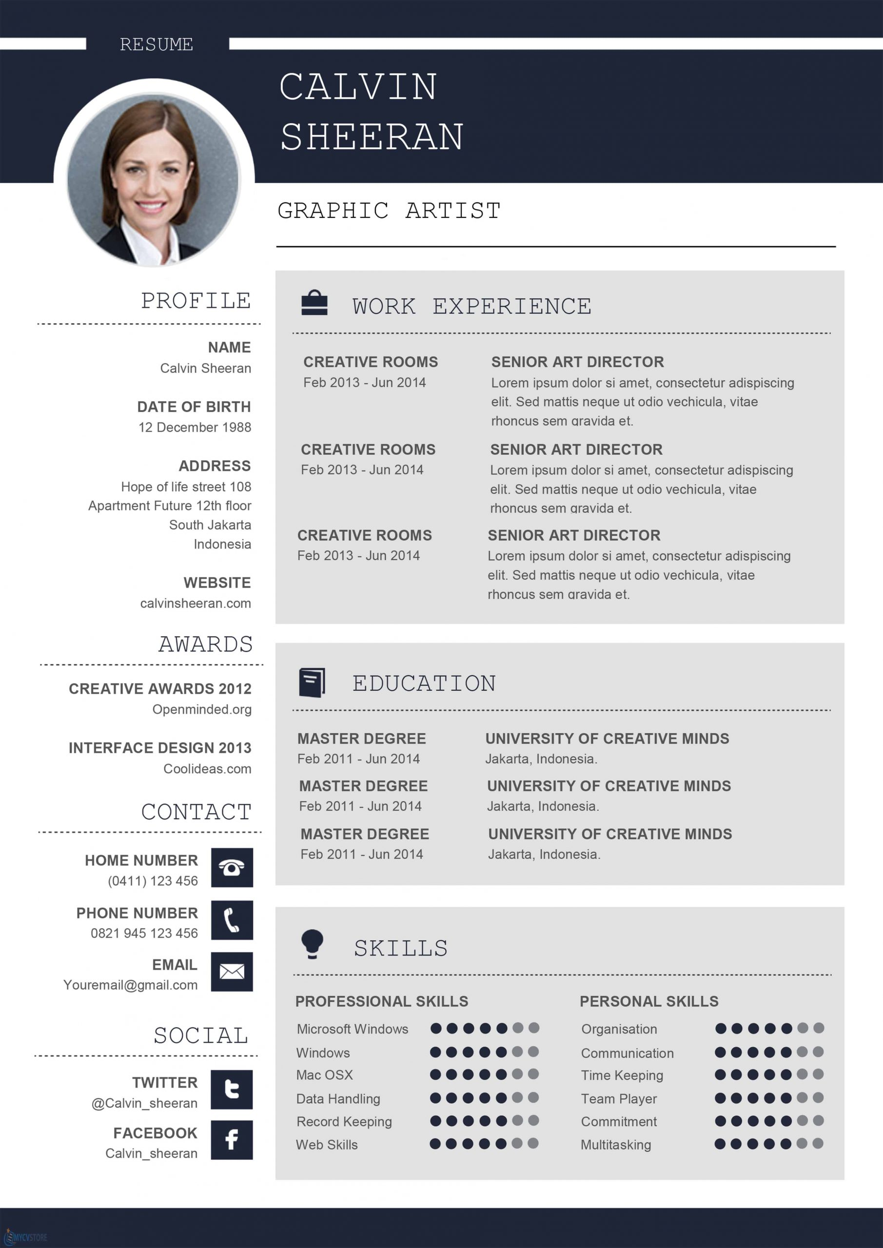 professional cv ms word template for looking resume scaled verification process excellent Resume Professional Looking Resume