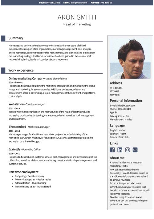professional cv templates for financial managers free new age resume template manager Resume New Age Resume Templates