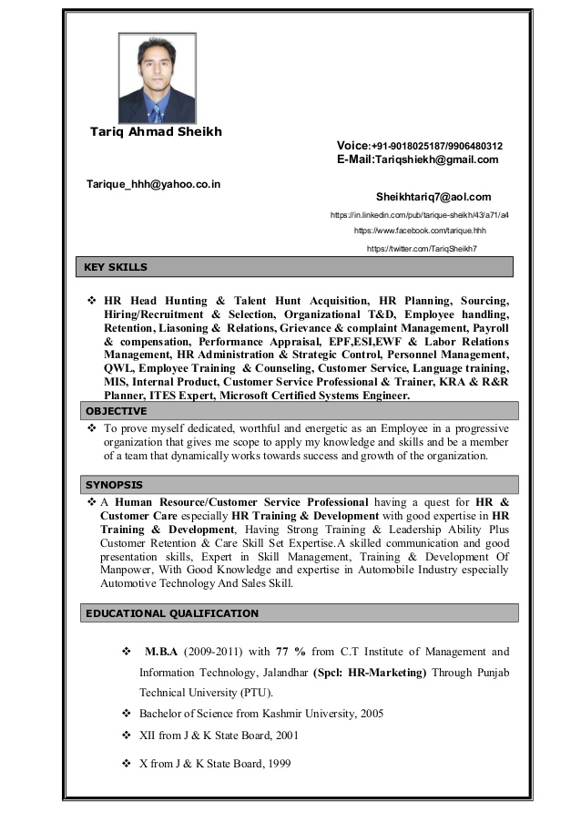 professional cv writing services in resume tariq sheikh hr customer service paper for Resume Resume Writing Services Hamilton