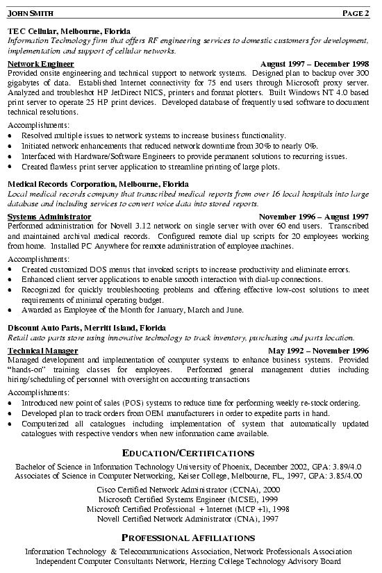 professional network engineer resume sample best examples ccna training director writter Resume Ccna Network Engineer Resume Sample
